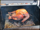 Turkey smoked in a Trager-brand smoker